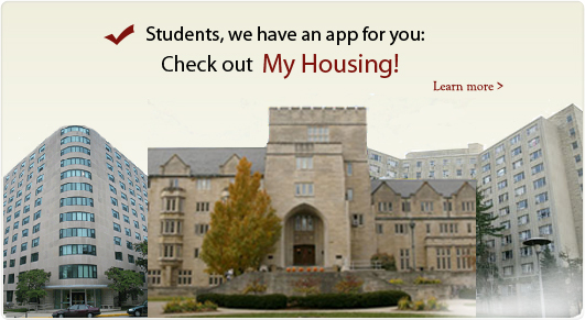 My Housing application for Students