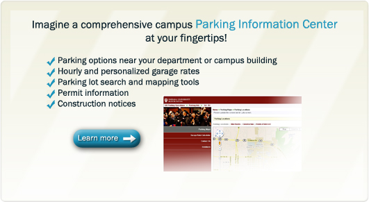 AIT's new Parking Information Center delivers comprehensive assistance.