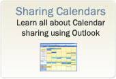 Sharing Outlook Calendars